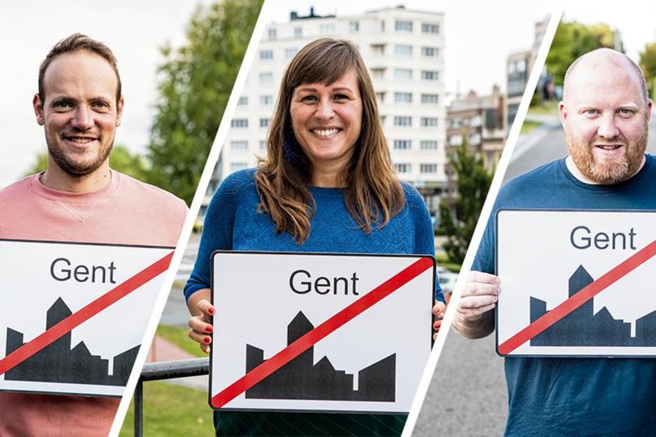 Elke dag verhuizen vier Gentenaars naar West-Vlaanderen